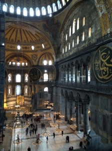 In Hagia Sophia I felt a unification of religions.