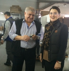 Engineering Director, Mr. Servet with Ceylan Ucgun